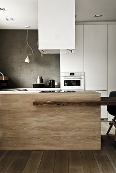 The rough with the smooth - inspiring apartment designed by Projekt-i
