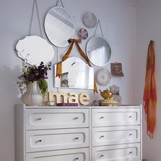 Kids Mirrors: Hanging Cut Out Mirrors   The Land of Nod