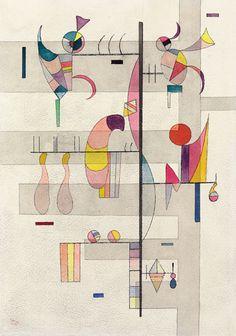 Bild: Wassily Kandinsky - Verteilung