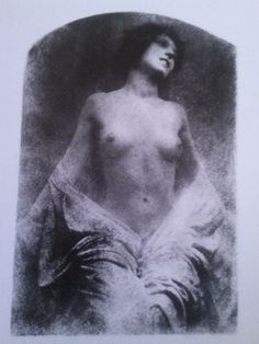 Robert Demachy  Untitled (c1905) * Personal photograph from the book The Naked Eye: Great Photographs of the Nude (selected and introduced by David Bailey), AMPHOTO, 1987.