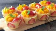 Mango Desserts, Mango Recipes, Delicious Desserts, Dessert Recipes, Yummy Food, Dutch Recipes, Sweet Recipes, Amish Recipes, Agar Agar Pudding Recipe