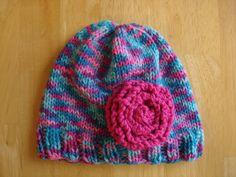 Fiber Flux...Adventures in Stitching: Free Knitting Pattern...Very Violet Newborn Hat!