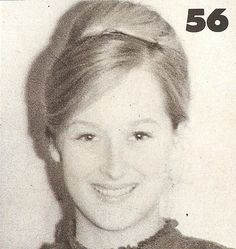 Younger Meryl...How cute is she