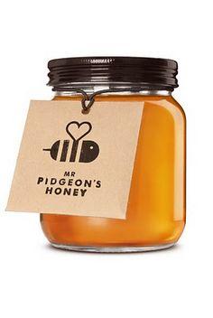 branding for mr pidgeons honey