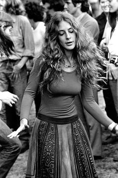 Denise could always be found dancing to whatever song was playing at Woodstock!