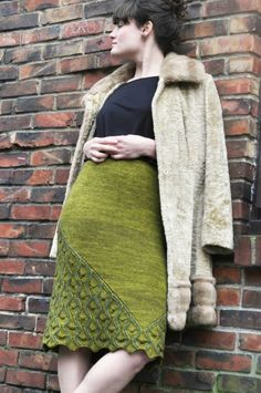 Bold Move, an exclusive skirt kit from Lorilee Beltman & The Plucky Knitter