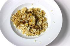 Pasta mt Pilz-Zitronen-Sahne-Sauce / http://piasdeli.de/Rezept/pasta-mt-pilz-zitronen-sahne-sauce/