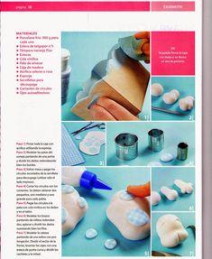MIS REVISTAS PARA REPOSTERIA: LETICIA SUAREZ DEL CERRO (2012-Nº1) Ceramic Bisque, Clay Tutorials, Cold Porcelain, 9 And 10, Polymer Clay, Ceramics, Bunnies, Boards, Drop