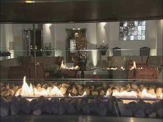 Planika's #fireplace based on bioalcohol Kempinski Hotel Hybernska Prague  www.planikafires.com www.facebook.com/planikafire #fireplace #biofireplace #kominek  #design #hotel