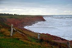 Prince Edward Island, Canada. This is the setting of the Anne of Green Gables books. Beautiful!