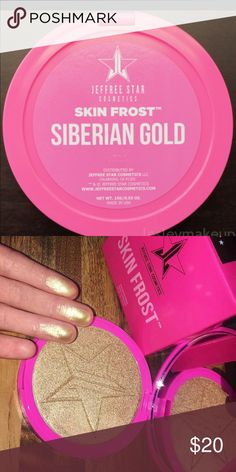 Jeffree Star Skin Frost Siberian Gold Siberian gold. Authentic. Swatched on hand once. Jeffree Star Makeup