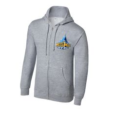 WrestleMania 29 Grey Full Zip Sweatshirt - #WWE