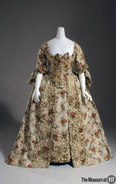 Robe à la Française 1755-1760 The Museum at FIT