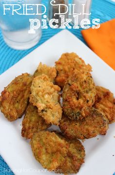 Fried Dill Pickles from Raining Hot Coupons