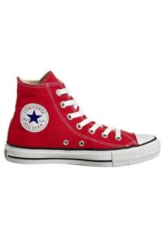 Converse - CHUCK TAYLOR ALL STAR HI CORE CANVAS - Baskets montantes - red