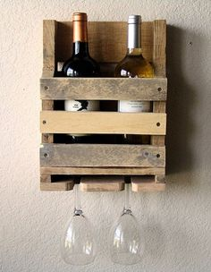 Wine Rack Rate this from 1 to Wine Rack 15 Amazing DIY Wine Rack Ideas Tuscan Wine Rack 16 Bottle Ladders - Set of 3 The Dock that Keeps on Giving DIY Wooden Pallet Projects, Pallet Crafts, Wooden Pallets, Wood Crafts, Diy Projects, Pallet Ideas, Diy Crafts, Furniture Projects, Furniture Plans