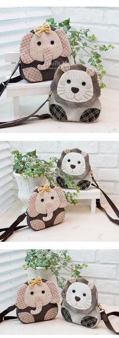 퀼트미 [코끼리 크로스백]