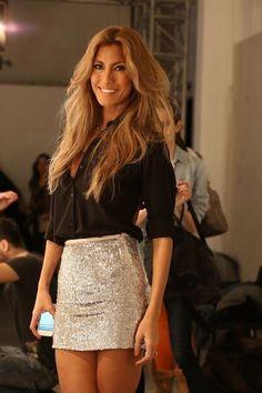 Fashion week çağla Şikel. Hair: Cemil İrez