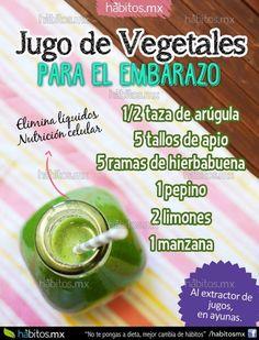 JUGO DE VEGETALES PARA EL EMBARAZO