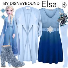 DisneyBound is meant to be inspiration for you to pull together your own outfits which work for your body and wallet whether from your closet or local mall. As to Disney artwork/properties: ©Disney Disney Character Outfits, Disney Princess Outfits, Disney Themed Outfits, Character Inspired Outfits, Disney Dresses, Frozen Inspired Outfits, Frozen Outfits, Disney Inspired Fashion, Disney Fashion