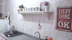 """Fitted kitchen. """"Flat Milo"""": 2 bedrooms with internet in El Palo, Malaga (Andalusia, Spain)"""