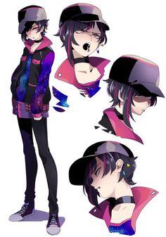 Cool Anime Girl, Cute Anime Pics, Chica Anime Manga, Kawaii Anime, Fanarts Anime, Anime Characters, Character Concept, Character Art, Manga Art