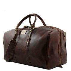 tolle Reisetasche aus Leder