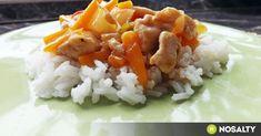 Édes-savanyú csirkemell Goldie konyhájából recept képpel. Hozzávalók és az elkészítés részletes leírása. Az édes-savanyú csirkemell goldie konyhájából elkészítési ideje: 25 perc Ketchup, Grains, Food, Essen, Meals, Seeds, Yemek, Eten, Korn