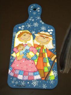 Tabla de picar Nacimiento Navidad Christmas