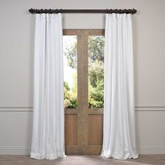 EFF Faux Silk Taffeta Solid Blackout Curtain Panel  Need 6 at 108 or 120 and 50 wide