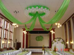Memorable Wedding Decoration With Balloons