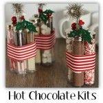 Homemade Christmas Gift Idea: Hot Chocolate Kits!