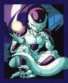 "jinzuhikari: "" DRAGON BALL Z Vintage (1992) Frieza Scan from DBZ calendar Published by Toei Animation / Shueisha / Fuji TV """