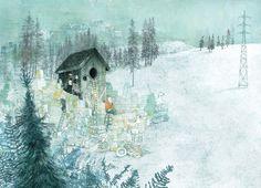 Illustration by Kaatje Vermeire – from 'Japie de Stapelaar / Jack the Stacker' (written by Bas Rompa)