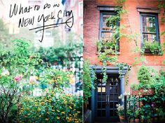 WHAT TO DO and WHERE TO EAT when visiting NYC