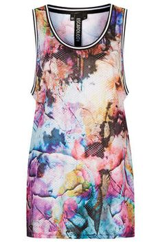 Floral Print Airtex Tank Top by Escapology - New In This Week  - New In