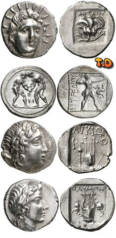 N♡T.Greek coins - Hellenism