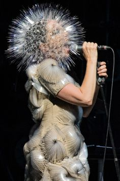 Bjork performing at Bonnaroo 2013