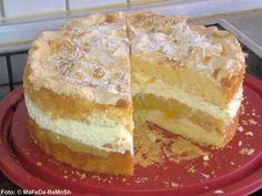 de The post Apple meringue cake recipe kochbar.de appeared first on Daisy Dessert. Cream Cheese Recipes, Cinnamon Cream Cheeses, Ice Cream Recipes, Raspberry Desserts, Fall Desserts, Brownie Recipes, Cupcake Recipes, Meringue Cake, Chewy Brownies
