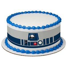 "10"" Round Star Wars R2D2 Designer Strips Edible Cake Borders A Birthday Place http://www.amazon.com/dp/B0167A7OOG/ref=cm_sw_r_pi_dp_AItswb12FEJMH"
