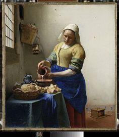 Exposition du 22 Février 2017 au 22 Mai 2017:  Vermeer et les maîtres de la peinture de genre - au Louvre, Paris