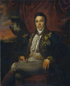 Portrait of Jean Chrétien Baud, Governor-General ad interim of the Dutch East Indies. 1835