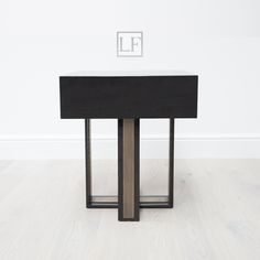 Luxuryfurniturelondon.com; brand new luxury Bedside table;  luxury Bedside table; black high gloss oak & brushed Brass; stunning opean grain black oak; perfect for interiors ; Kensington Collection