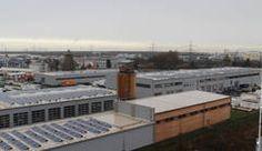 Die Photovoltaik-Anlage auf dem Dach des EAD wurde jetzt um 2.000 Quadratmeter Modulfläche erweitert
