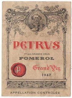 Pomerol Petrus 1947