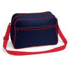 Shirtstown Retro Shoulder Bag, Umhängetasche, Schultertasche, Retro, Tasche, Farbe frenchnavyclassicred - http://herrentaschenkaufen.de/shirtstown/frenchnavyclassicred-shirtstown-retro-bag