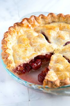 How to Make Homemade Cherry Pie (Easy Recipe) - Watch our recipe video showing you how to make it!