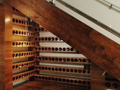 A Very Good Year  For a $100,000 price tag, Nicole Sassaman turned an old coat closet into a clever wine cellar. She replaced all of the drywall with walnut, glass and steel. The staircase has been opened up, and the old cupboard is no longer a forgotten and under-utilized space.