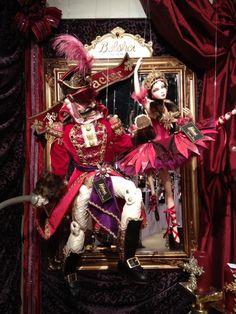 Katherine's Collection Christmas Nutcracker Theme Display.