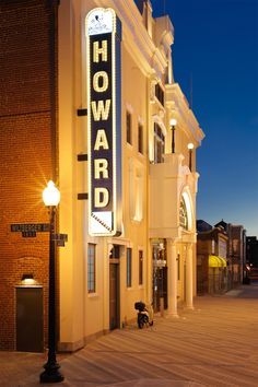 Howard Theatre in Washington DC #renovation #architecture #mjarch